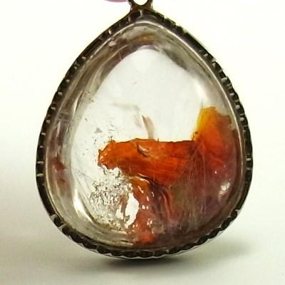 画像1: 天然水晶(雲母入り)