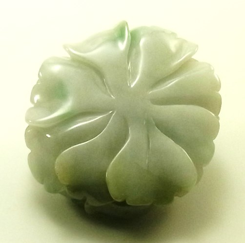 画像2: 翡翠ペンダントトップ(花)