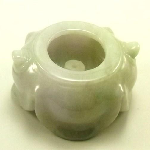 画像2: 翡翠飾り物(香炉)