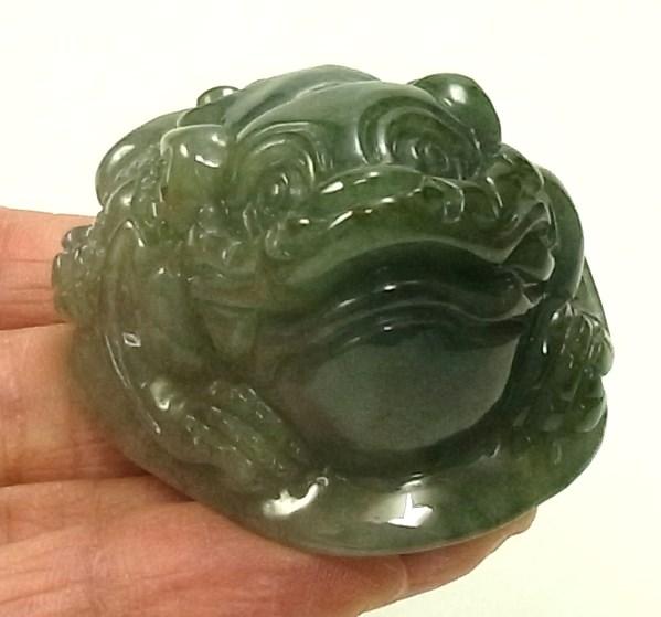 画像3: 翡翠飾り物(三本足カエル)